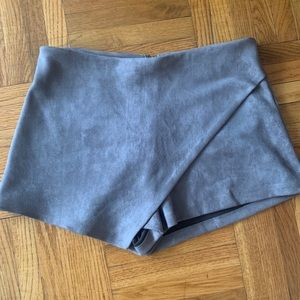 Grey Suede Skort - Seek the Label from LF